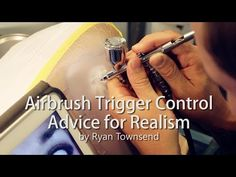 Airbrush Lessons and Advice on Practicing Trigger Control - YouTube