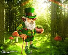 Leprechaun- Irish fairy