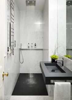 29 Guest Bathroom Ideas to 'Wow' Your Visitors Small Ensuite Bathroom Design Ideas, Renovations & Photos Modern Bathroom Design, Contemporary Bathrooms, Bathroom Interior Design, Bathroom Designs, Contemporary Bathroom Inspiration, Bath Design, Wet Rooms, Shower Remodel, Bath Remodel