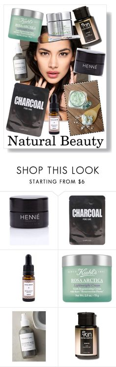 """Natural Beauty"" by fashionandexpression ❤ liked on Polyvore featuring beauty, Henné Organics, Lapcos, Kiehl's, French Girl, Sonia Kashuk, Kat Burki, naturalbeauty and skincare"