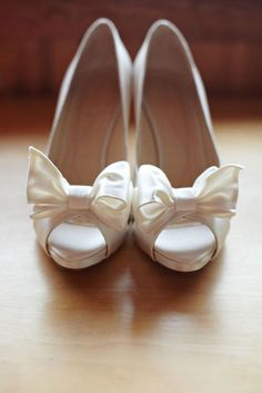 Cute wedding shoes! I'm so excited!