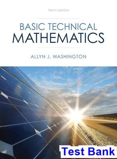 Solution manual for international economics 12th edition by basic technical mathematics 10th edition washington test bank test bank solutions manual exam fandeluxe Image collections