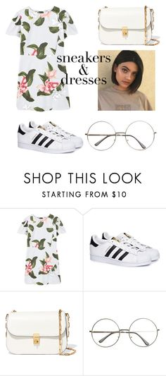 """keep it shitty"" by jeonayla on Polyvore featuring MANGO, adidas and Valentino"