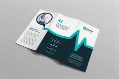 Medical Healthcare Tri-Fold Brochure by Layout Design Ltd on Template Brochure, Brochure Layout, Brochure Design, Brochure Ideas, Leaflet Design, Booklet Design, Flyer Design Inspiration, Creative Inspiration, Medical Brochure