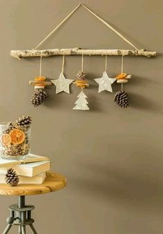 DIY Crafts for kids Christmas DIY Crafts for kids!Christmas DIY Crafts for kids! Easy Christmas Crafts, Diy Christmas Tree, Diy Crafts For Kids, Christmas Ornaments, Snowflake Ornaments, Christmas Design, Christmas Craft Projects, Natural Christmas, Christmas Cards