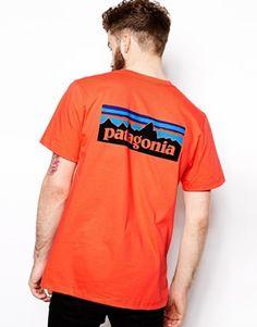 Patagonia T-Shirt with Back Logo