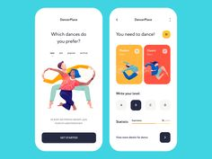 Mobile app - DancerPlace by Outcrowd on Dribbble The Effective Pictures We Offer You About App Design yellow A quality picture can tell you many things. You can find the most beautiful pictures that c Web Design, App Ui Design, Design Layouts, Graphic Design, Ui Design Mobile, Mobile App Ui, Mobile Web, Mobile Code, Ui Design Inspiration