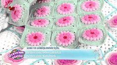 Örgü Bebek Battaniyesi ve Dekoratif Çiçek Yapımı *Deryalı Günler