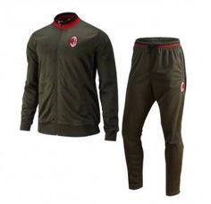 AC Milan 16-17 Season Soccer Deep Green Outfit [I808]