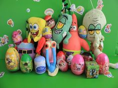 Spongebob Time With Surprise Eggs Harry Potter ONE DIRECTION Frozen BEN 10