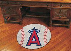 Los Angeles Angels MLB Baseball Rug   Santana's Market