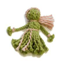 Ginger  Yarn Doll