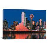 Wayfair//Panoramic Digital Composite, Dallas, Texas Photographic Print on Canvas