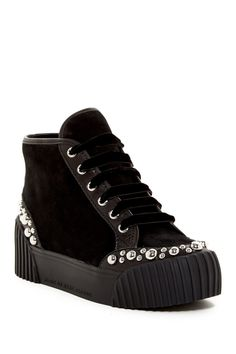 Charlton High Top Studded Platform Sneaker by Marc by Marc Jacobs on…