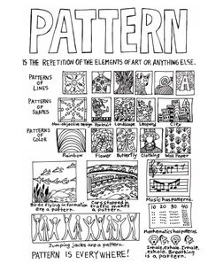 #ABC's of Art - Pattern Share me!