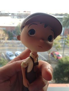 Additional Details and Photo of Bambino maquette from La Luna director, Enrico Casarosa (Pixar)