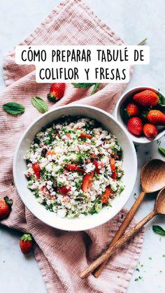 Healthy Recepies, Healthy Menu, Healthy Eating, Veggie Recipes, Vegetarian Recipes, Fitness Top, Cook At Home, Vegans, Food Hacks