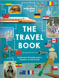 Lonely planet kids travel book cover