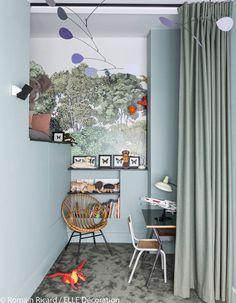 Une chambre d'enfant déco et végétale