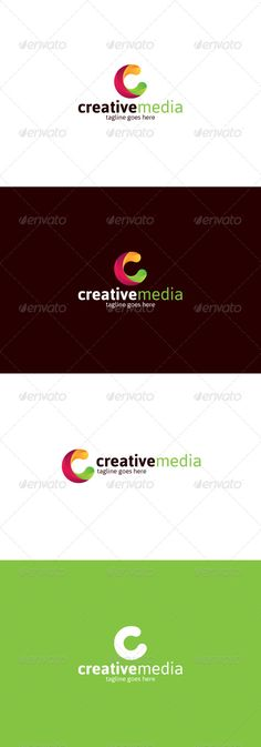 Creative Media � Letter C - Logo Design Template Vector #logotype Download it here: http://graphicriver.net/item/creative-media-logo-letter-c/8328599?s_rank=1518?ref=nexion