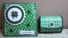St. Patrick's Day Card and Balsa Box