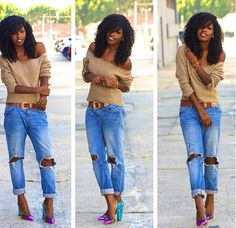 Holey..I want some so bad.. #jeans #boyfriendjeans