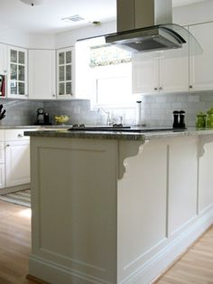 kitchen island molding kitchen with antique white shaker style cabinets crown 13499