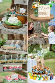 Cute kiddie party idea