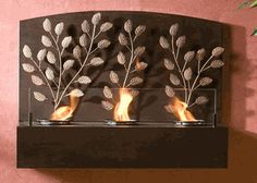 Vine Fireplace