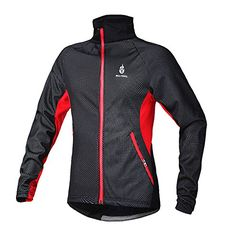 Boys' Cycling Jackets - West Biking Cycling Windbreaker Autumn Winter Bicycle Jacket Long Sleeve Jersey Windproof Coat for Men * Continue to the product at the image link.