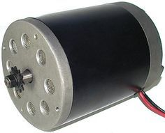 24 Volt 500 Watt Electric Motor with 11 Tooth #25 Chain Sprocket (MY1020) - Monster Scooter Parts
