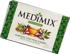 Medimix Ayurvedic Soap 125g - New Large Size by Medimix. $3.42. Helps to prevent spots, prickly heat and dandruff and is an effective antiseptic.. Product of India. Medimix has been clinically proven to be effective against many skin conditions. Its rich lather is enriched with the extracts of 18 potent herbs.. Medimix has been clinically proven to be effective against many skin conditions such as; pimples (acne), body odour, prickly heat, boils and other skin...