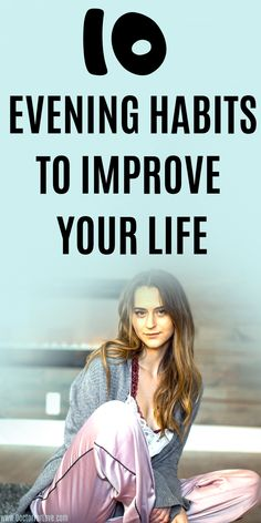 How to drastically improve your life overnight? These 10 evening habits will help you rest better and wake up full of energy, ready to be productive and achieve your goals. How To Better Yourself, Improve Yourself, Self Development, Personal Development, Routine Planner, Habits Of Successful People, Evening Routine, How To Stop Procrastinating, Self Improvement Tips