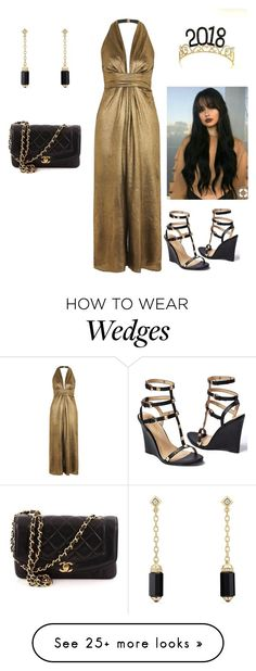 """""""Happy New Year!"""" by ourloveisgod17 on Polyvore featuring Topshop, David Yurman, Venus and Chanel"""