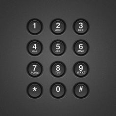Create a Realistic Telephone Keypad Using Layer Styles | Psdtuts+