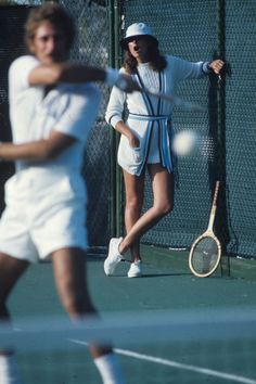 The Most Beautiful Tennis Courts in Vogue, Just in Time for the French Open   Vogue Tennis Photos, Sports Photos, Tennis Fashion, Sport Fashion, Tennis Photography, Lifestyle Sports, Tennis Clothes, Tennis Outfits, French Open