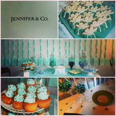 Tiffany and Co. My next birthday theme FO SHO! 23rd Birthday, Birthday Ideas, Breakfast At Tiffanys, Blue Box, Tiffany And Co, Holi, Sweet Treats, Goodies, 21st