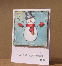 Lawn Fawn's Making Frosty Friends