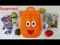 Nickelodeon Diego Backpack Surprise Eggs Blind Bags Angry Birds Disney P...