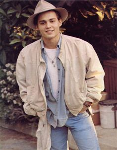 Johnny Depp. Its funny how is style hasn't changed much..
