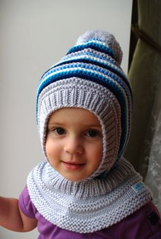 Knitting Patterns Hoodie Waldorf inspired winter and snow hat. Hand knitted hoodie / balaclava hat for baby, toddler, child.Waldorf impressed winter and snow hat. Hand knitted hoodie / balaclava hat for child, toddler, youngster. Knitted Hats Kids, Baby Hats Knitting, Sweater Knitting Patterns, Hand Knitting, Knitted Balaclava, Boys Hoodies, Crochet Beanie, Baby Patterns, Toddler Boys