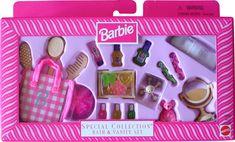 *1998 Special collection bath & vanity set 2 #19697 Barbie Playsets, Barbie Toys, Barbie Stuff, Vintage Barbie Dolls, Doll Toys, Vintage Toys, Barbie Bath, Disney Characters Costumes, Mini Doll House