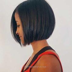Incredible Dark sleek bob haircut, no stacked back, no angle  The post  Dark sleek bob haircut, no stacked back, no angle…  appeared first on  Hairstyles .