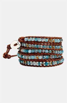 Chan Luu Fire Agate Wrap Bracelet | Nordstrom