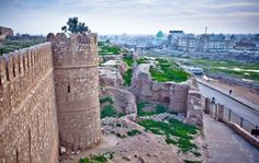 Kirkuk Citadel is one of the oldest parts of the city. Built by King Ashurnasirpal II between 884 and 858 BCE