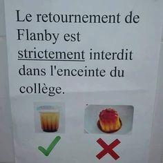 Certaines écoles françaises sont de vraies dictatures.  #flamby #cantine #ecole