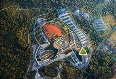 Cranbourne's Botanic Garden won the first prize of World Architecture Festival 2013