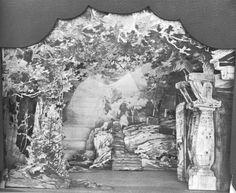 """"""" Götterdämmerung """" 2.Aufzug  1896 Modell"""