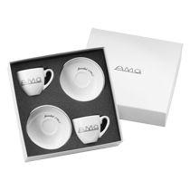 Mercedes-Benz espresso cups, set, AMG Vintage