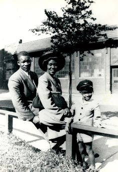 Gwendolyn Brooks and family; Milwaukee, 1945